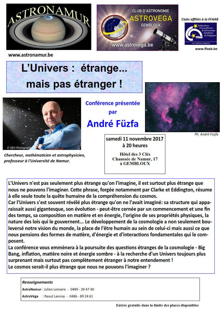 André Fuzfa - 11 Novembre aux 3 clés ! 2-10-210