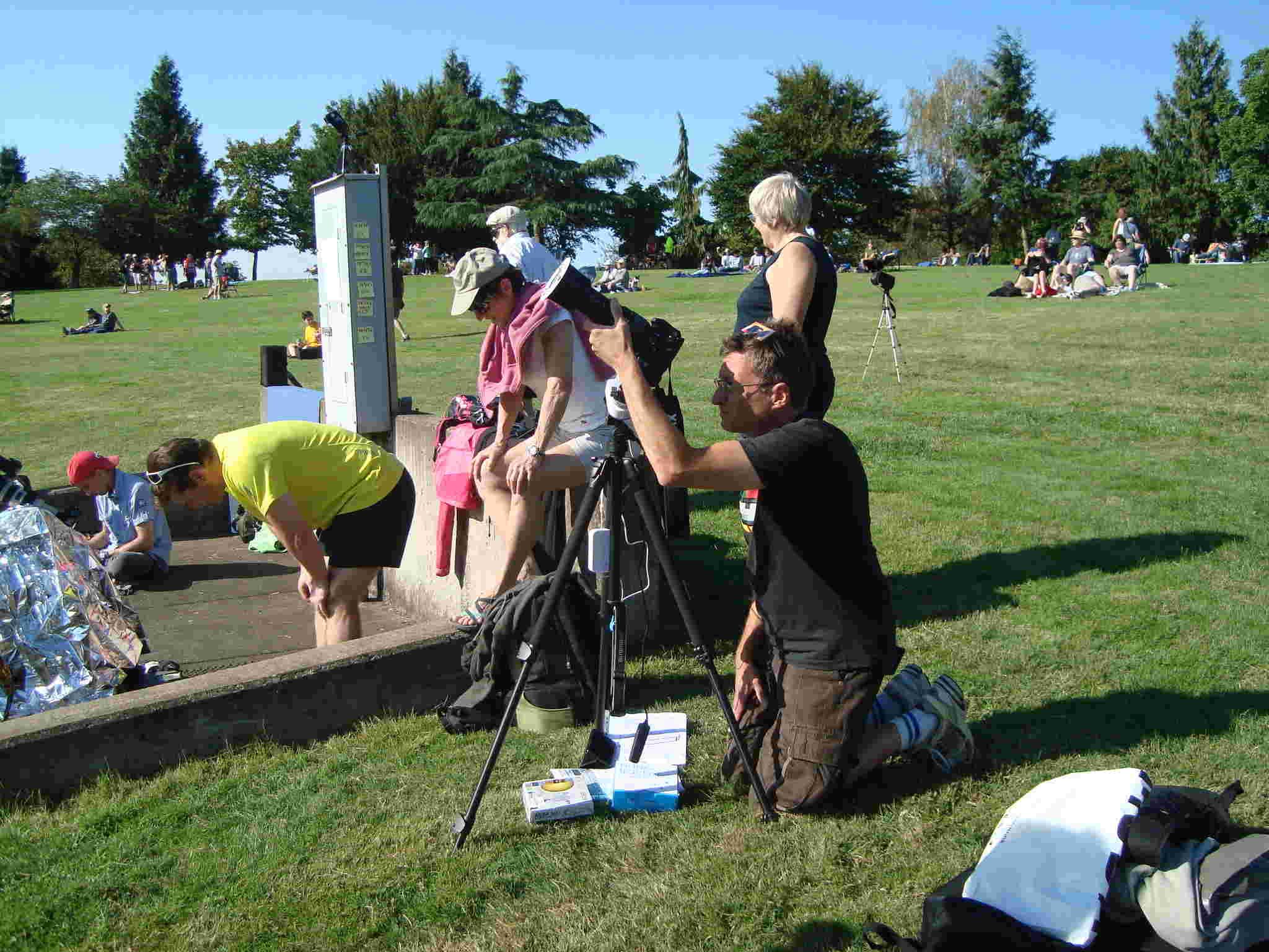 21 August 2017 - Oregon Albany - Solar Eclipse Dsc04313