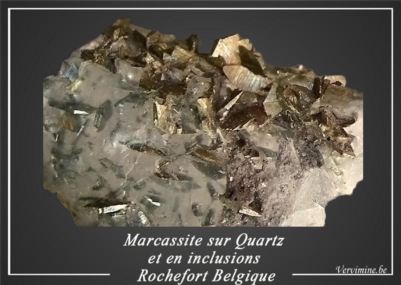Marcassites de rochefort en Belgique. 397-in10
