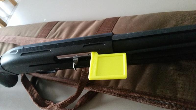 Mise en sécurité d'une arme 20170711