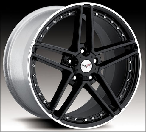 C5 cab avec Black Cray Scorpion wheels pour Kiki C6z06m10