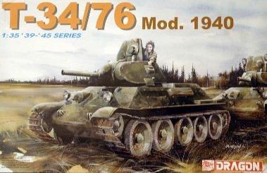 1/35 T-34/76 Mod1940 Dragon 6092-t10