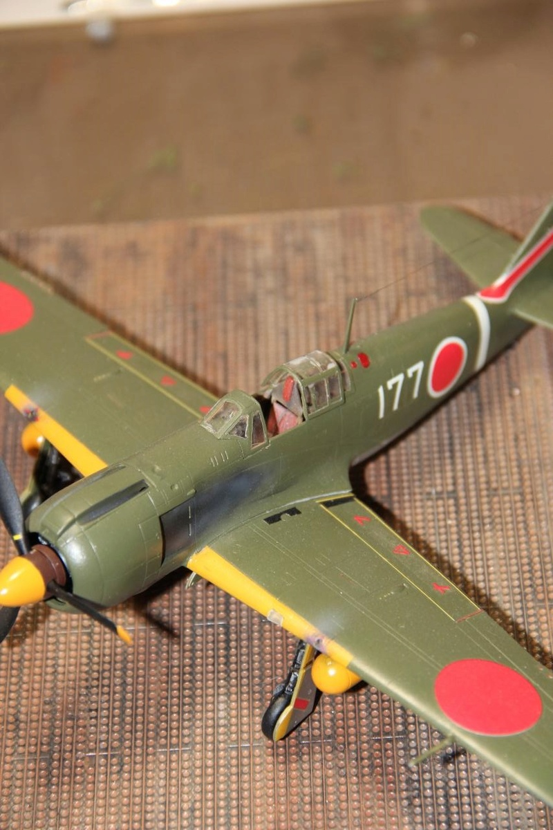 "1/48 Ki-100 Koh ""Tony"" - Hasegawa Img-0812"