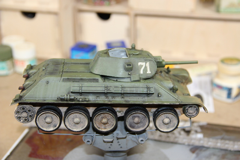 1/35 T-34/76 Mod1940 Dragon Img_1414