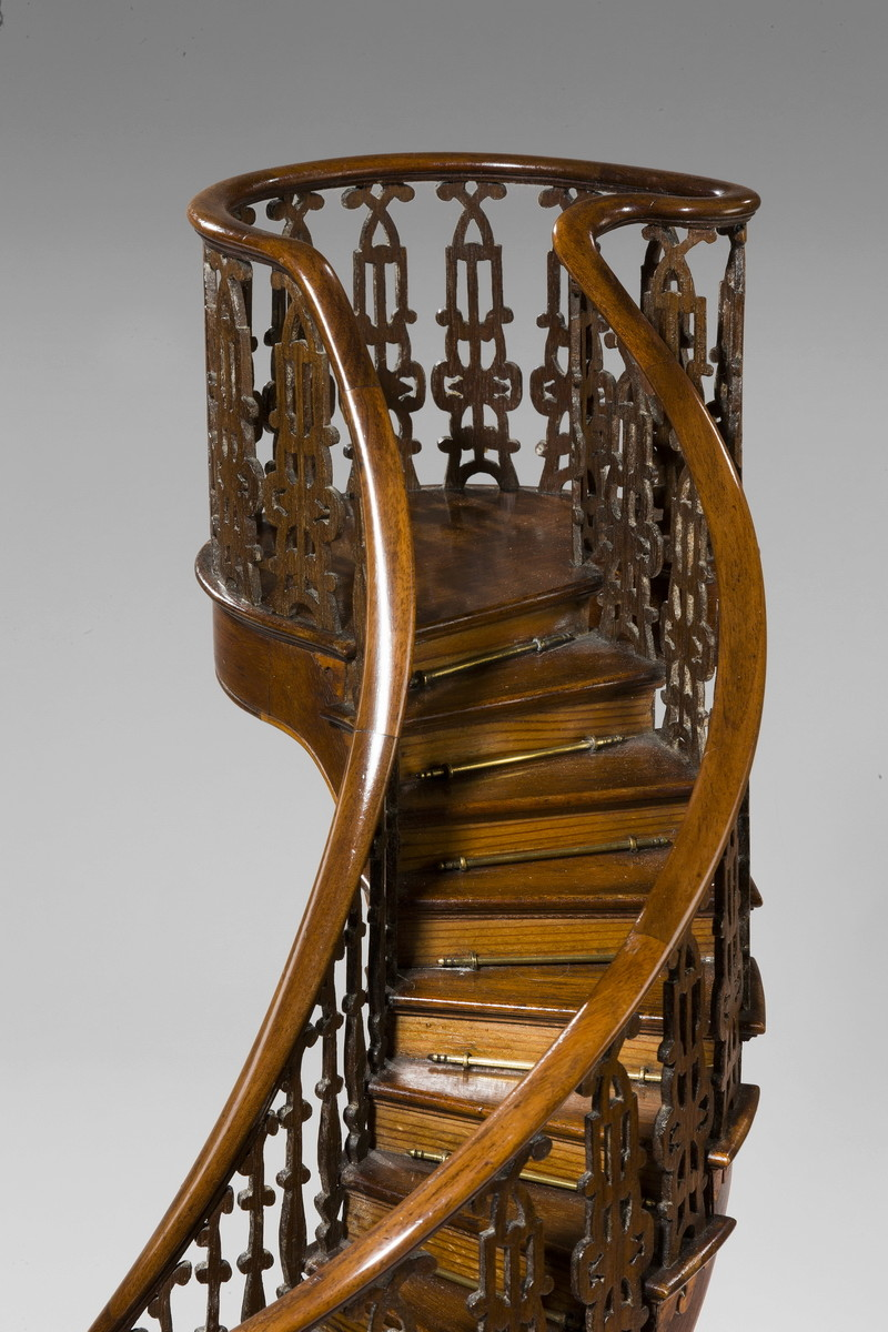 [Miracle] L'escalier de Santa-Fe de Notre Dame de Lorette (nouveau-mexique) 412a_s10