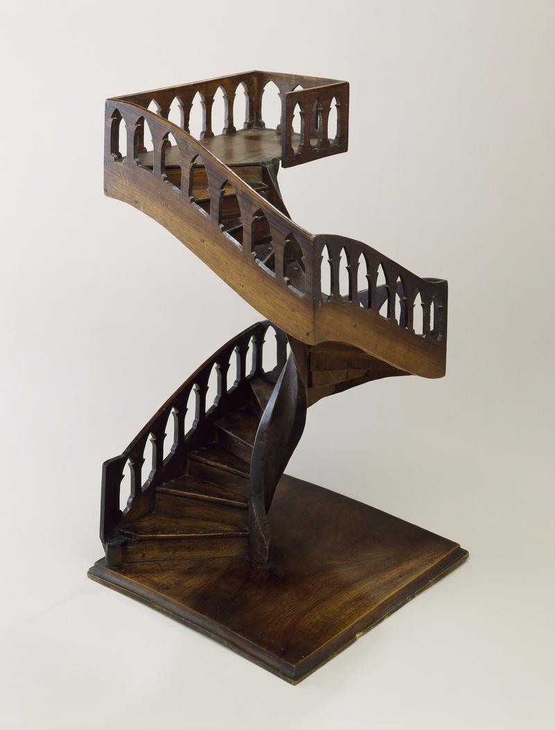 [Miracle] L'escalier de Santa-Fe de Notre Dame de Lorette (nouveau-mexique) Collec10