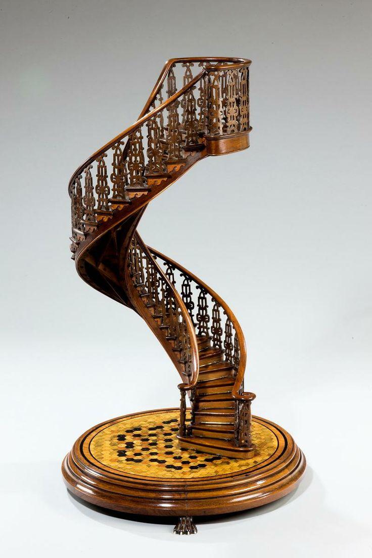 [Miracle] L'escalier de Santa-Fe de Notre Dame de Lorette (nouveau-mexique) Escali10
