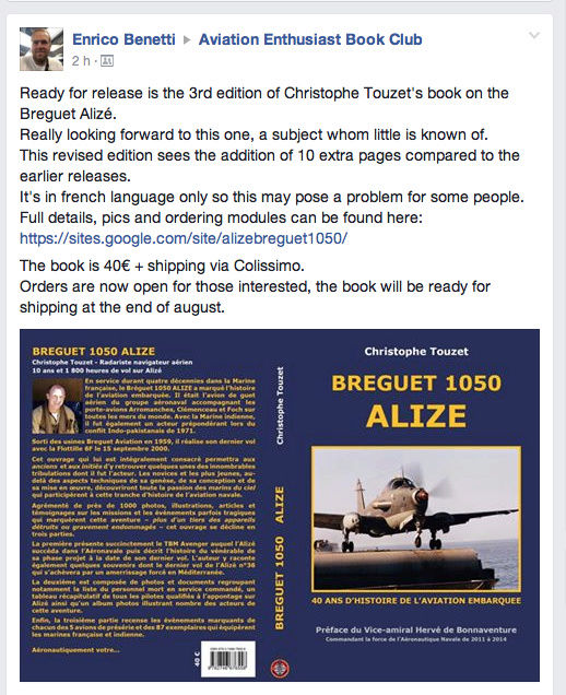 BIBLIO BREGUET ALIZE 1050 Captur72