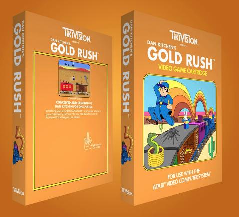 DAN KITCHEN'S GOLD RUSH / ATARI 2600 Captu432