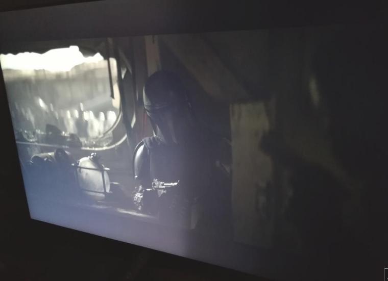 Zones lumineuses TV LG Captu603