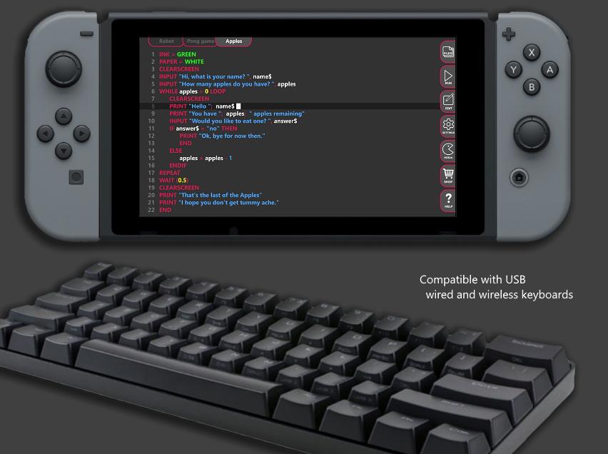 FUZE 4, développer en basic sur Switch ! Captur71