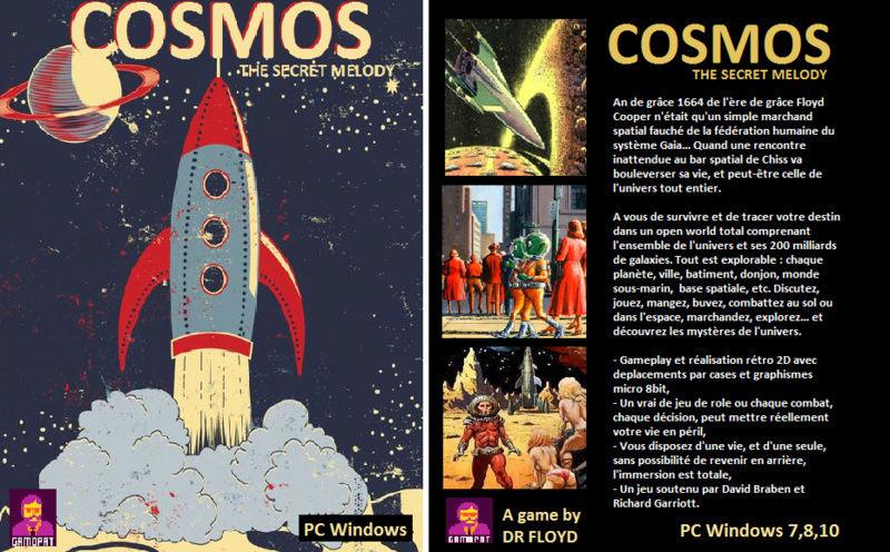 COSMOS THE SECRET MELODY / CARNET DU DEVELOPPEUR AVRIL 2018 Cosmos11