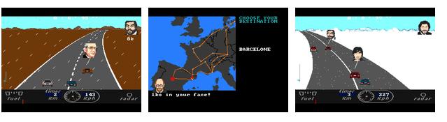THE BIG RACE 1986 Enduro10