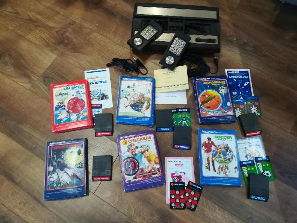 Le retour de la brocante du Doc (MSX, Intellivision, Atari, 3DS, X360...) Mattel10