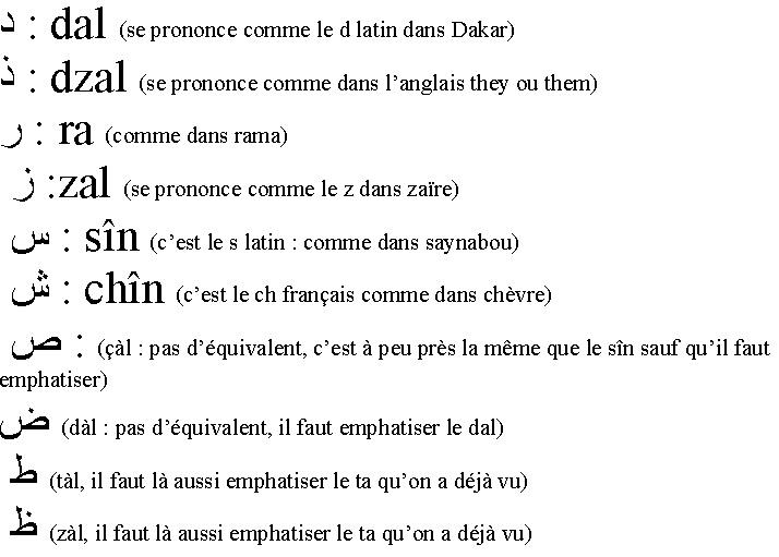 Cours de langue : ARABE Arabe210