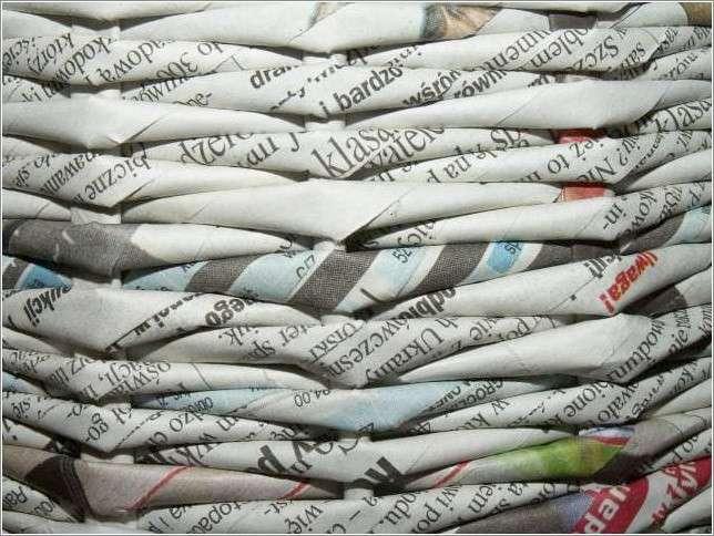█◄أوراق الجرائد والمجلات : سلة بديعة►█ 45230210