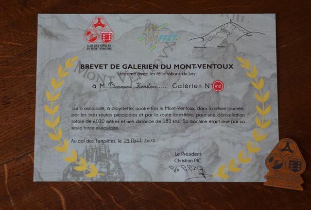 Galérien du Ventoux Brevet10