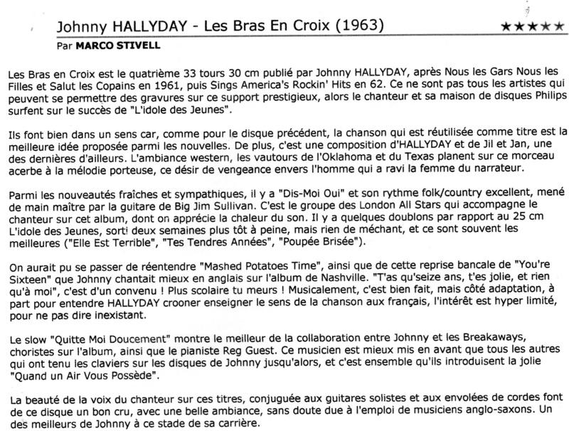 LA DISCOGRAPHIE DE JOHNNY VU PAR Img89511