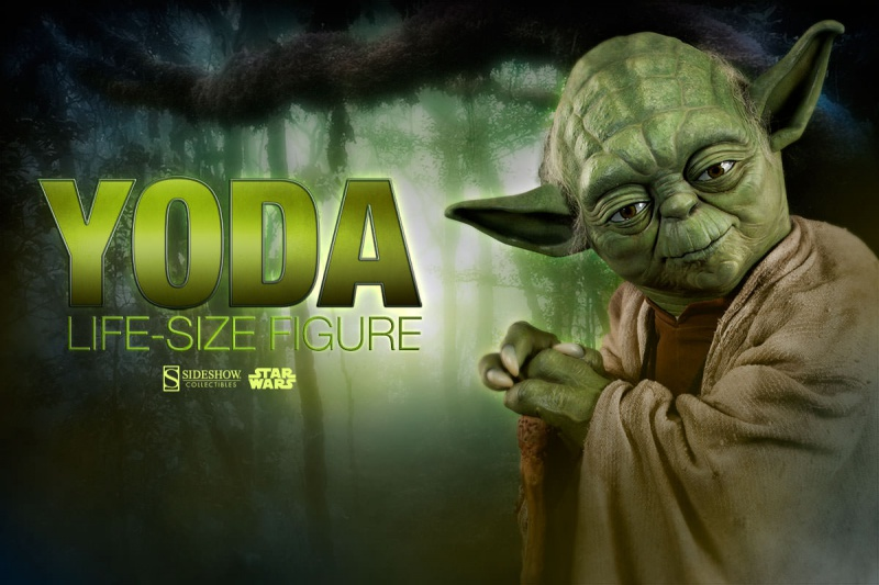 Sideshow Collectibles - Star Wars Yoda Life-Size Figure 12541210