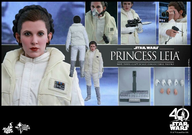 Star Wars: The ESB 1/6th scale Princess Leia Collectible Fig 14939027