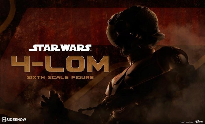 Sideshow Collectibles Star Wars - 4-LOM Sixth Scale Figure  4-lon_10