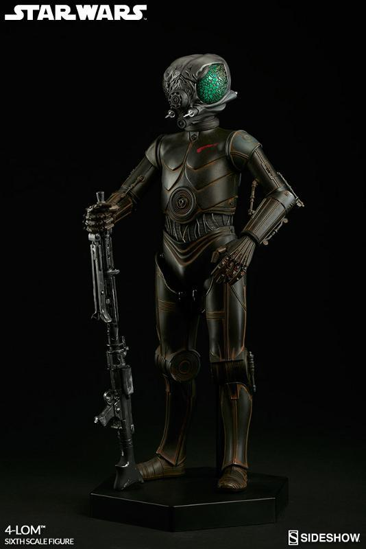 Sideshow Collectibles Star Wars - 4-LOM Sixth Scale Figure  4-lon_13