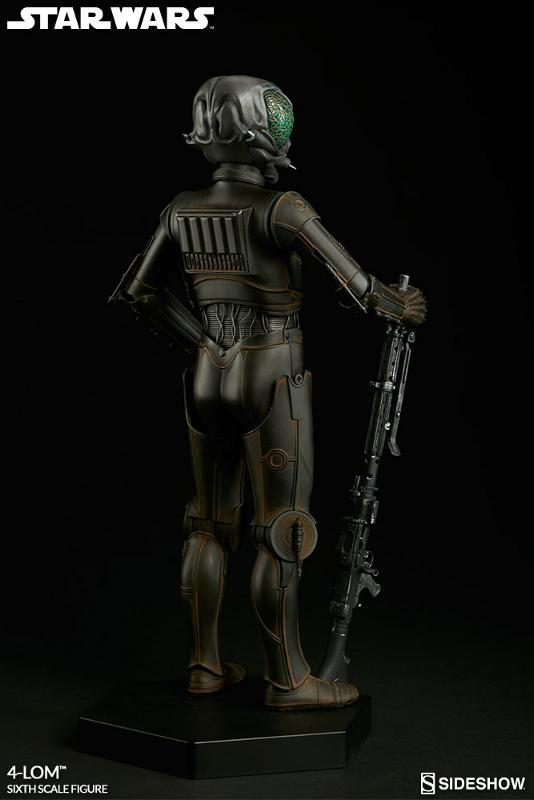 Sideshow Collectibles Star Wars - 4-LOM Sixth Scale Figure  4-lon_17