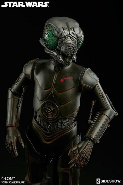 Sideshow Collectibles Star Wars - 4-LOM Sixth Scale Figure  4-lon_18