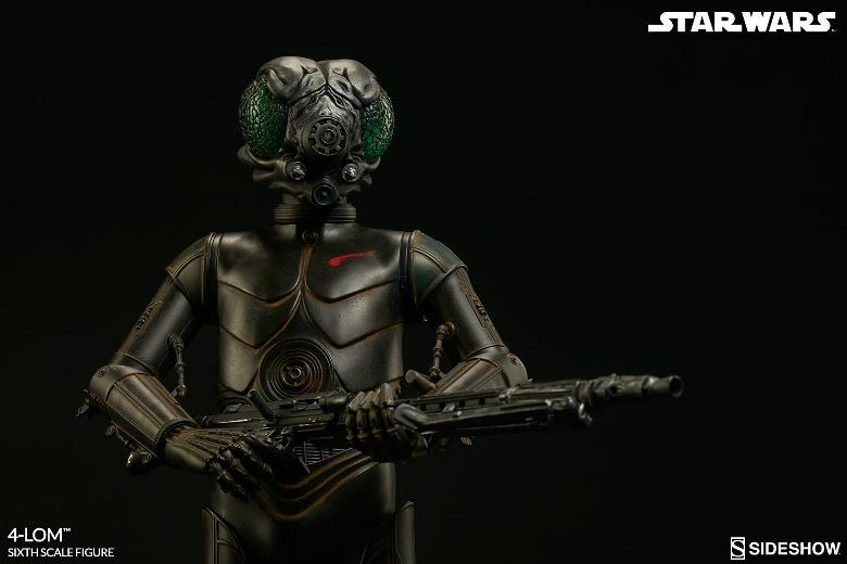 Sideshow Collectibles Star Wars - 4-LOM Sixth Scale Figure  4-lon_21