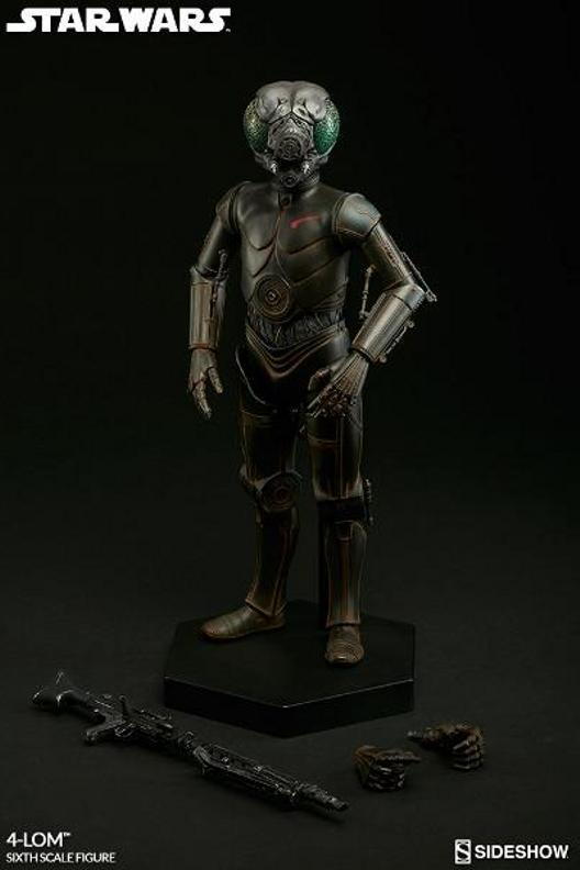 Sideshow Collectibles Star Wars - 4-LOM Sixth Scale Figure  4-lon_23