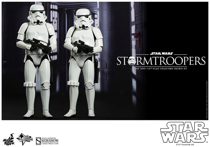 Hot Toys Stormtrooper Sixth Scale Figures Set 90229110