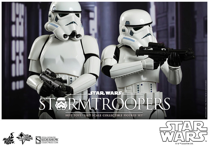 Hot Toys Stormtrooper Sixth Scale Figures Set 90229111
