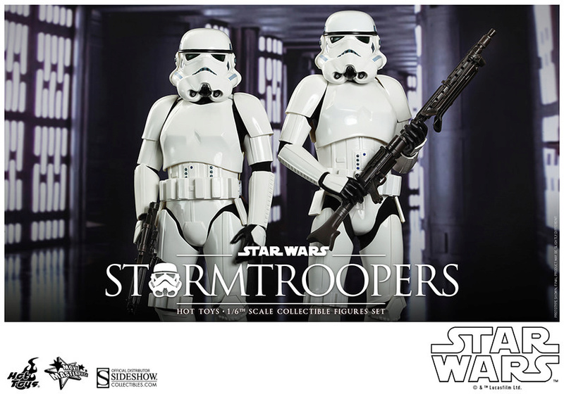 Hot Toys Stormtrooper Sixth Scale Figures Set 90229112