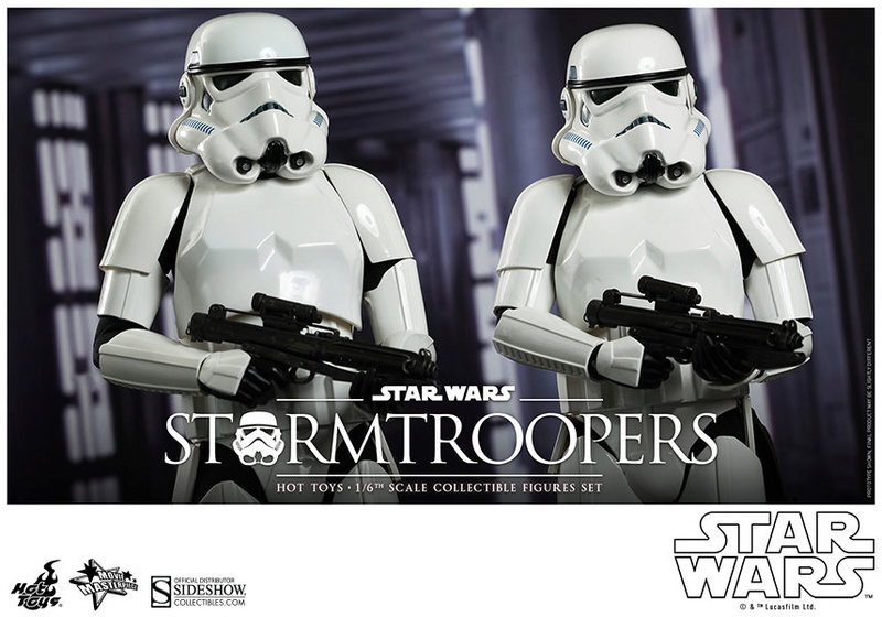 Hot Toys Stormtrooper Sixth Scale Figures Set 90229113