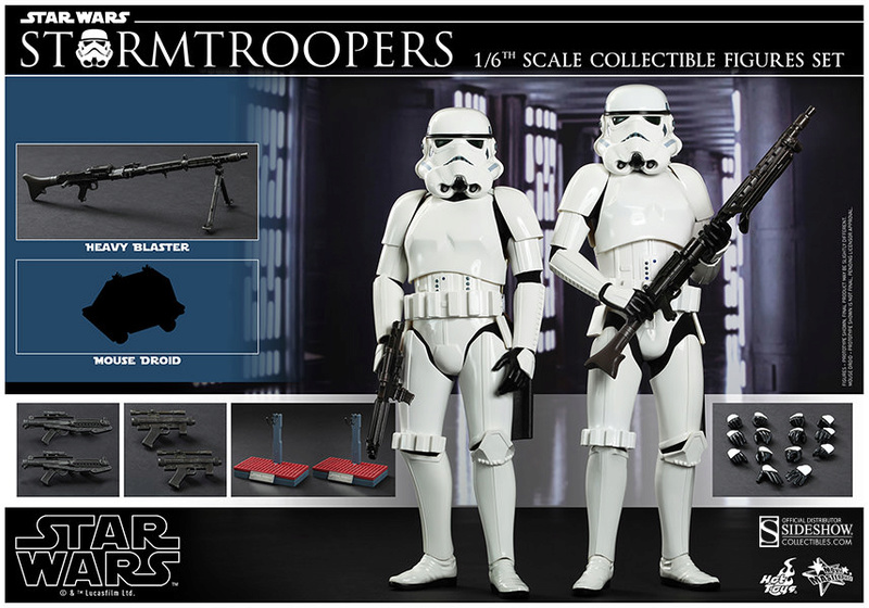 Hot Toys Stormtrooper Sixth Scale Figures Set 90229114