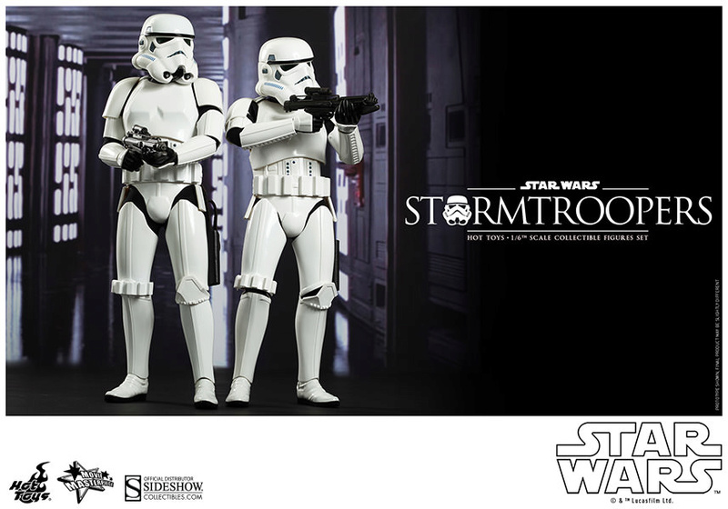 Hot Toys Stormtrooper Sixth Scale Figures Set 90229115