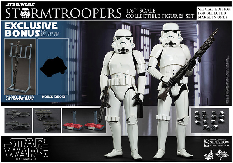 Hot Toys Stormtrooper Sixth Scale Figures Set 90229116