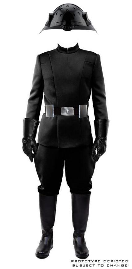 ANOVOS STAR WARS - Men's Imperial Officer - Black Uniform A11