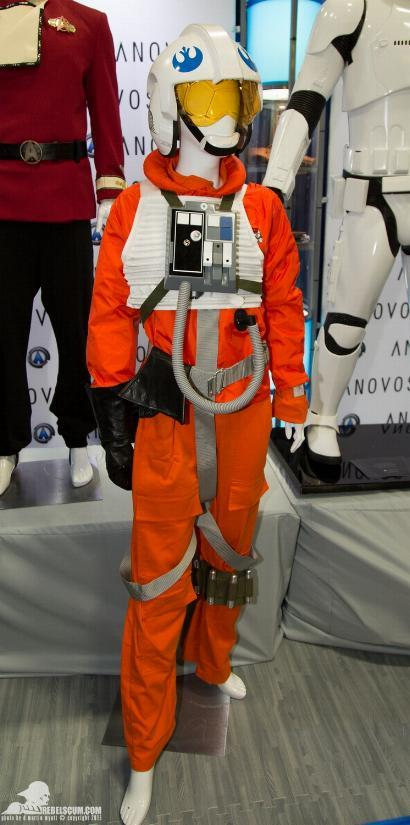 ANOVOS STAR WARS - Classic Trilogy X-Wing Pilot Ensemble Ano_xw10