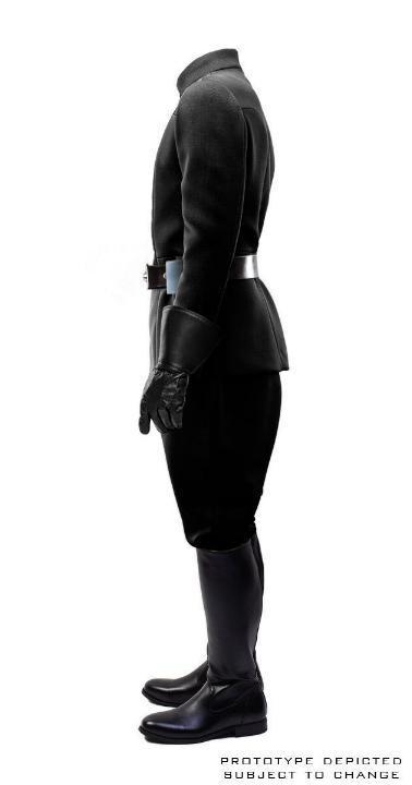 ANOVOS STAR WARS - Men's Imperial Officer - Black Uniform Ar10