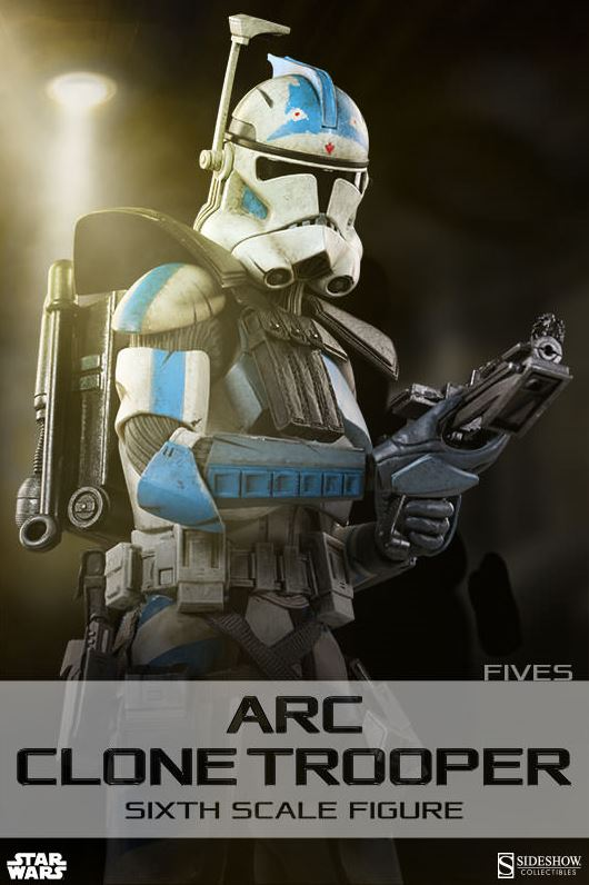 Sideshow Arc Clone Troopers Echo & Fives Sixth Scale Figures Arc-cl10