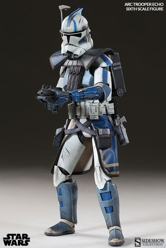 Sideshow Arc Clone Troopers Echo & Fives Sixth Scale Figures Arc-cl14