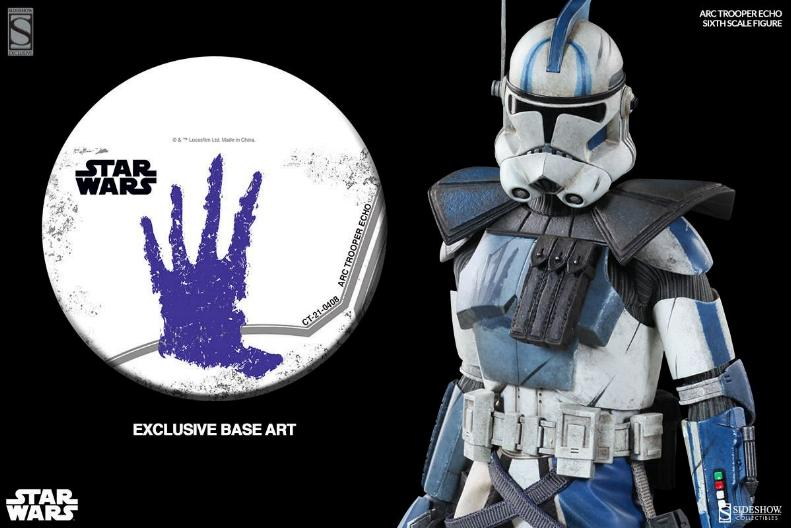 Sideshow Arc Clone Troopers Echo & Fives Sixth Scale Figures Arc-cl22