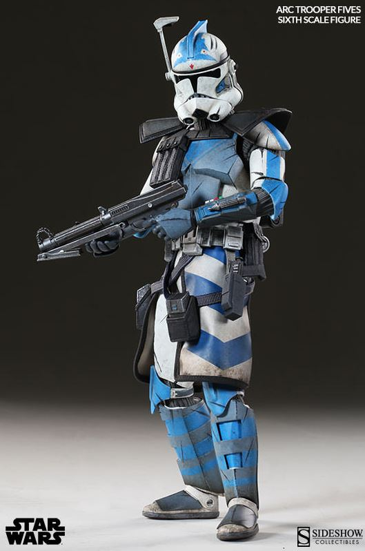Sideshow Arc Clone Troopers Echo & Fives Sixth Scale Figures Arc-cl23