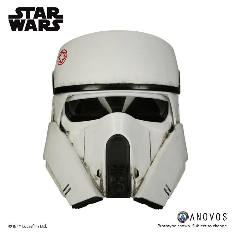 ANOVOS STAR WARS ROGUE ONE AT-ACT Driver Helmet Accessory At-act10