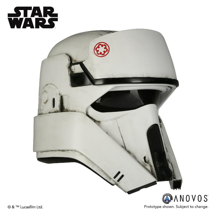ANOVOS STAR WARS ROGUE ONE AT-ACT Driver Helmet Accessory At-act14