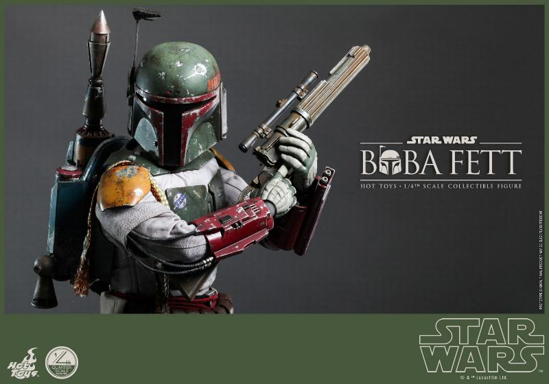 Hot Toys Star Wars - Boba Fett 1/4th Scale figure Boba-f10