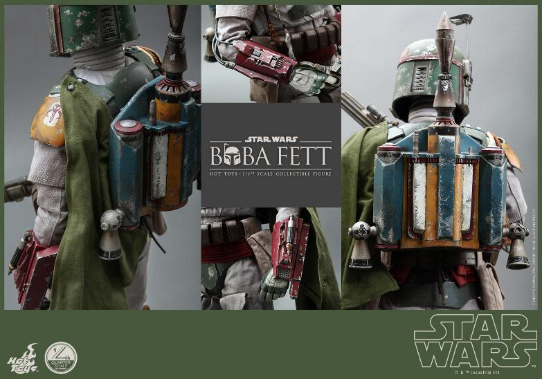 Hot Toys Star Wars - Boba Fett 1/4th Scale figure Boba-f11