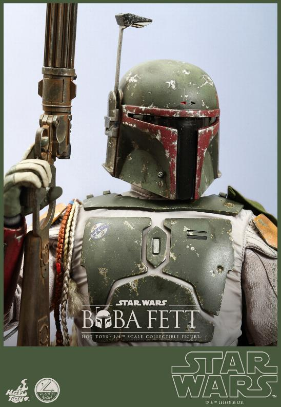 Hot Toys Star Wars - Boba Fett 1/4th Scale figure Boba-f12