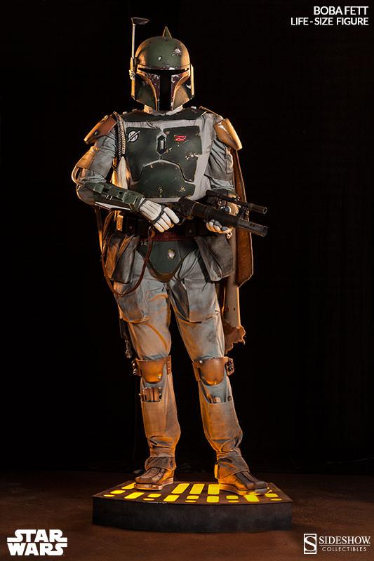 Star Wars - Sideshow - The Boba Fett Life-Size Figure Boba-f23